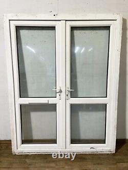 Upvc Pvcu-front French Doors-exterior-external-plastic-porch-entrance-georgian