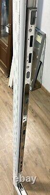 Upvc Swish Front Double Glazed Door Frame-wide-pvcu-side Light-porch-white-new