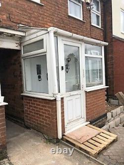 Upvc White Double Glaze Front Porch