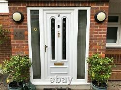 Used upvc front door and frames