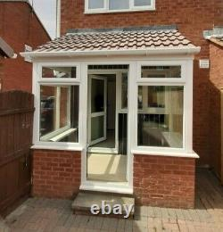 Used upvc front porch mint condition