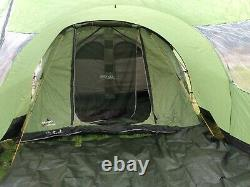 Vango Icarus 500 Deluxe Family Tent with front porch. Up to 5 Person