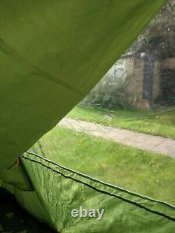 Vango Icarus 500 with front porch/canopy, footprint, carpet, tent pegs & mallet