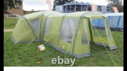 Vango Palermo 800 XL Air Beam Tent With Extra Front Porch With Extras