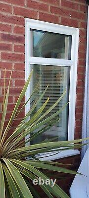 White upvc front door & windows set