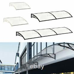 XLarge Door Canopy Awning Front Back Porch Patio Roof Rain Shelter Outdoor Shade